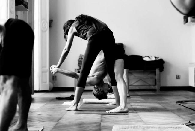 Corrección de asana - Ashtanga yoga