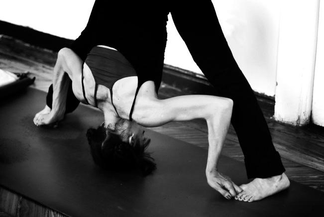 Ejecución de asana - Ashtanga yoga